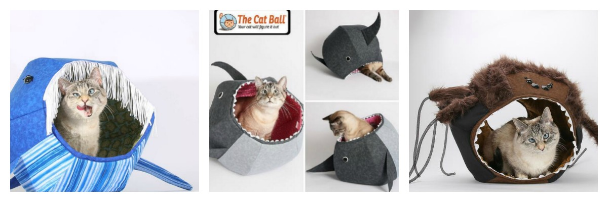 Coo Coo Catchoo: The Cat Ball and Cat Canoe