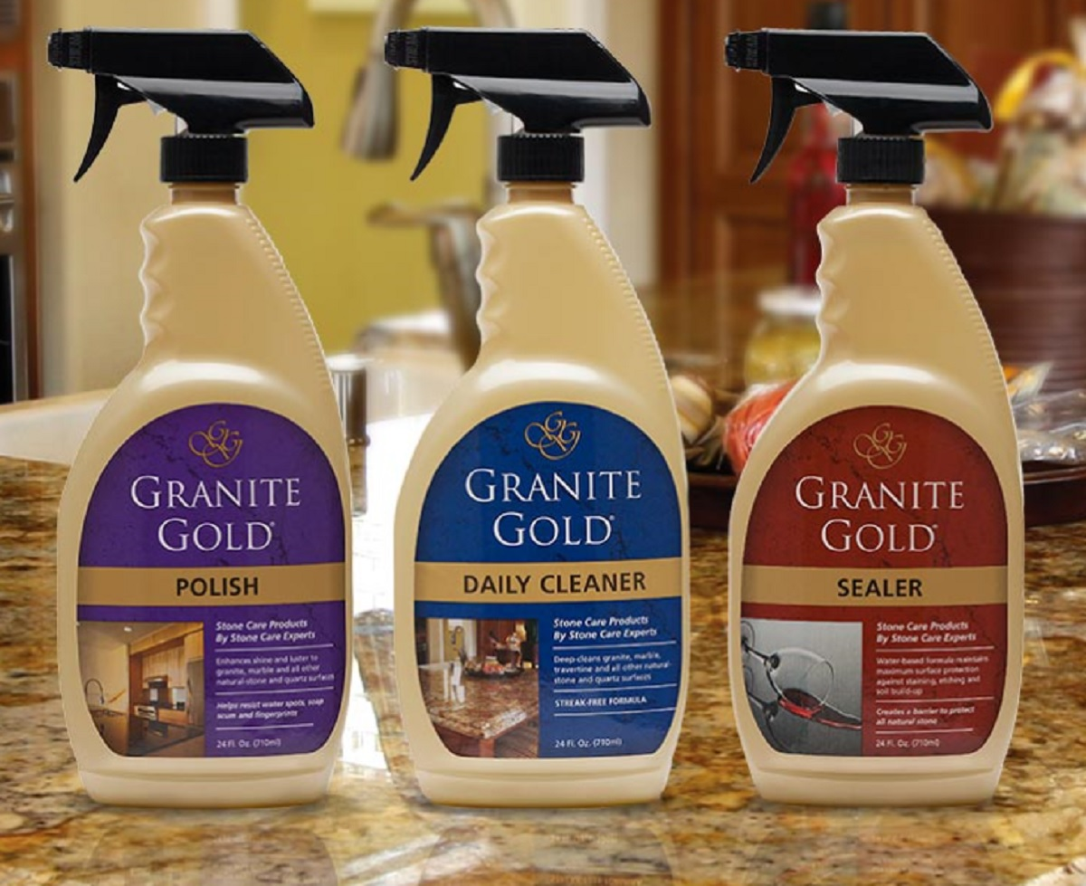 My Countertops Look Brand New Thanks to Granite Gold!