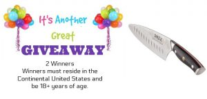 Ergo Chef Shinzui Knife Giveaway