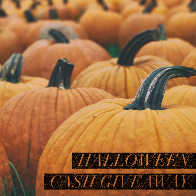 Halloween Cash Giveaway