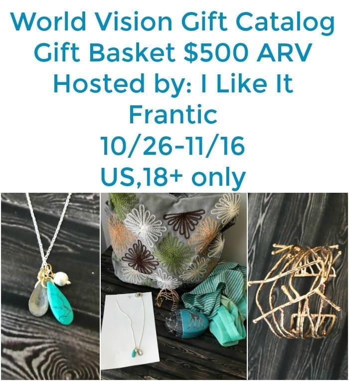 World Vision's Gift Catalog Gift Basket Giveaway! $500 arv