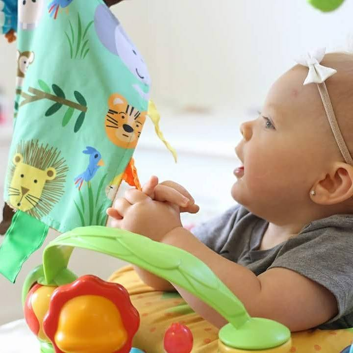 Sensory Tag Blankets from Baby Jack and Company