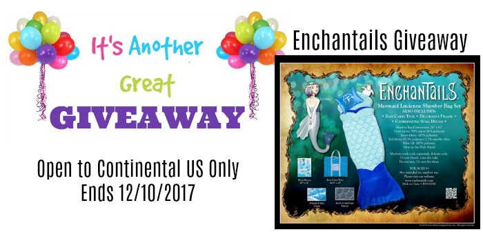 Enchantails Slumber Bag Exclusive Holiday Giveaway