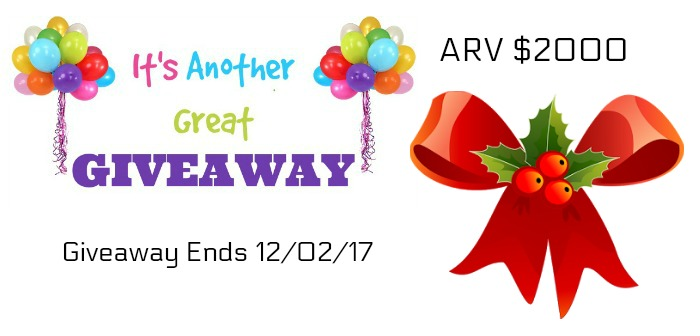 Holiday Giveaway Spectacular Week two
