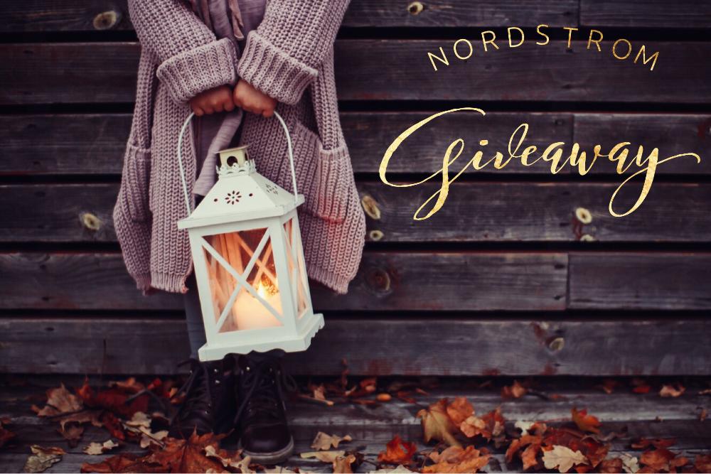 November Nordstom Instagram Giveaway