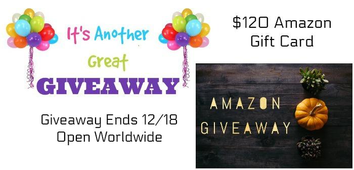 November Amazon Giveaway