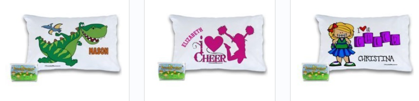 Personalized Pillowcases from PersonalizedPillowcase.com