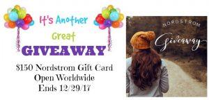 Nordstrom Instagram Giveaway