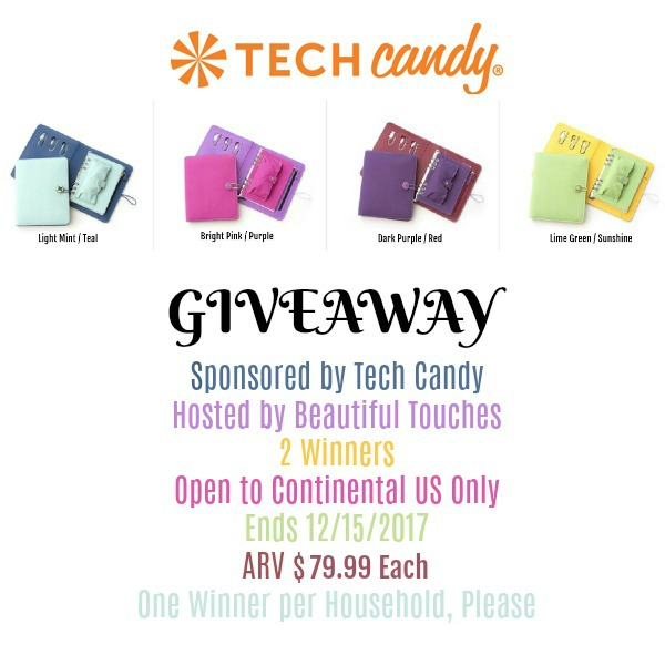 Tech Candy Power Planner Giveaway