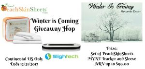 Winter is Coming Giveaway Hop Featuring PeachSkinSheets.com and MYNT