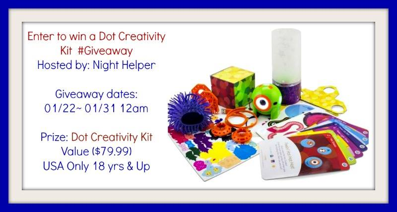 Dot Creativity Kit Giveaway