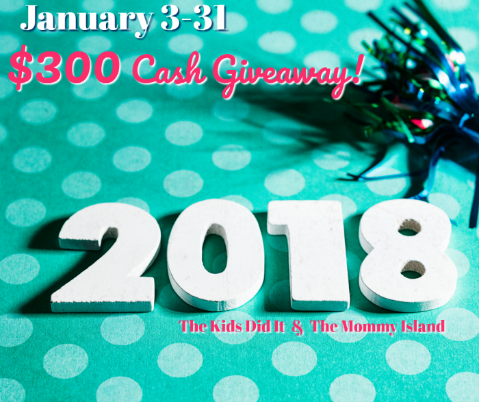 January CASH Giveaway