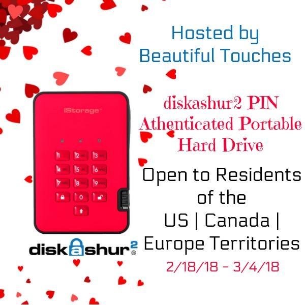 iStorage diskAshur2 Giveaway