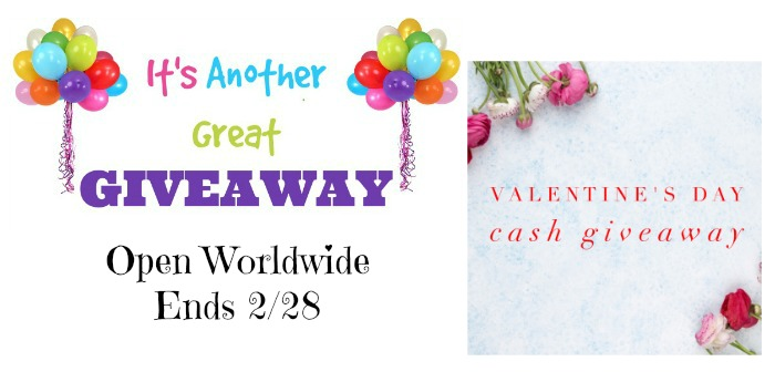 Valentine's Day Cash Giveaway