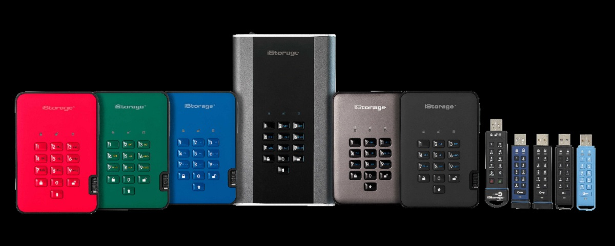 iStorage PIN Authenticated Hardware Encrypted Data Storage Devices
