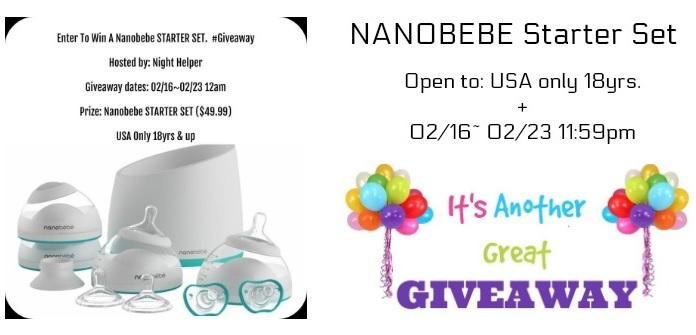Nanobee Starter Set Giveaway