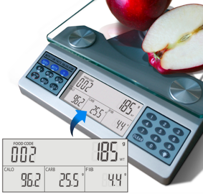 EatSmart Digital Nutritional Scale - Professional Food and Nutrient Calculator Giveaway