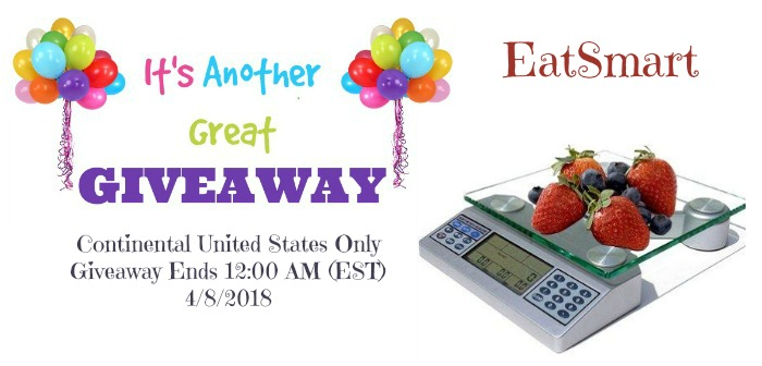 EatSmart Digital Nutritional Scale – Professional Food and Nutrient Calculator Giveaway