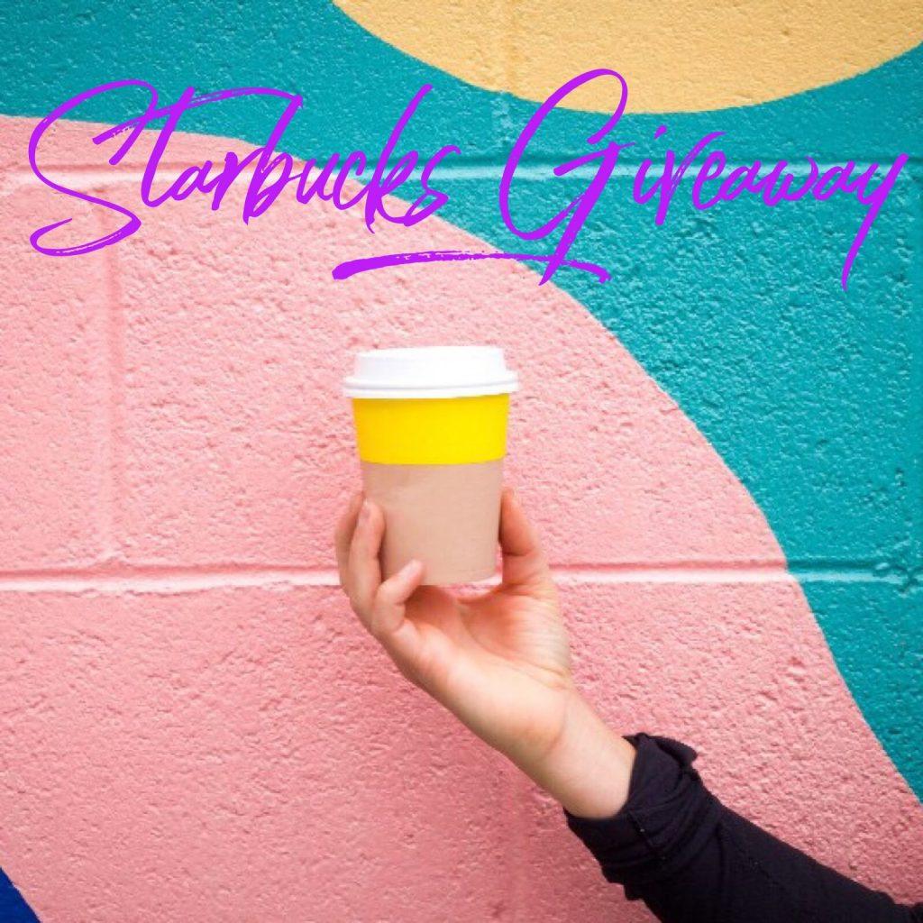 Starbucks March Instagram Giveaway