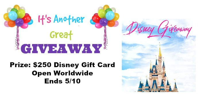 April Disney Giveaway