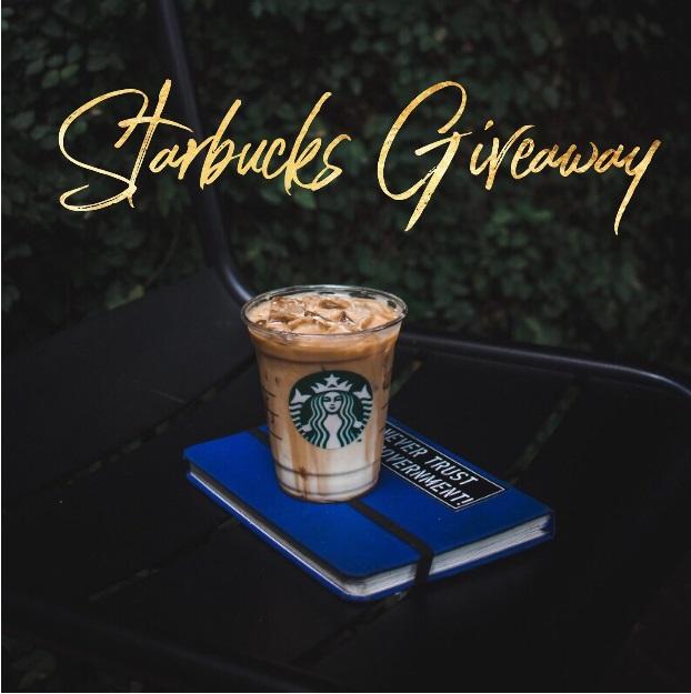 April Starbucks Insta Giveaway