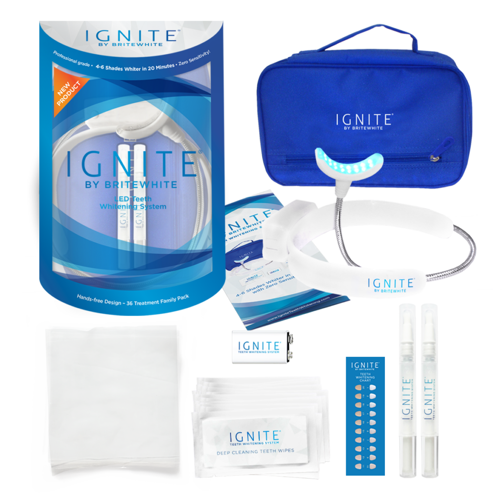 IGNITE By Britewhite...LED Teeth Whitening System