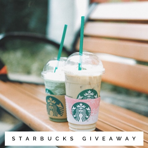 May Starbucks Insta Giveaway