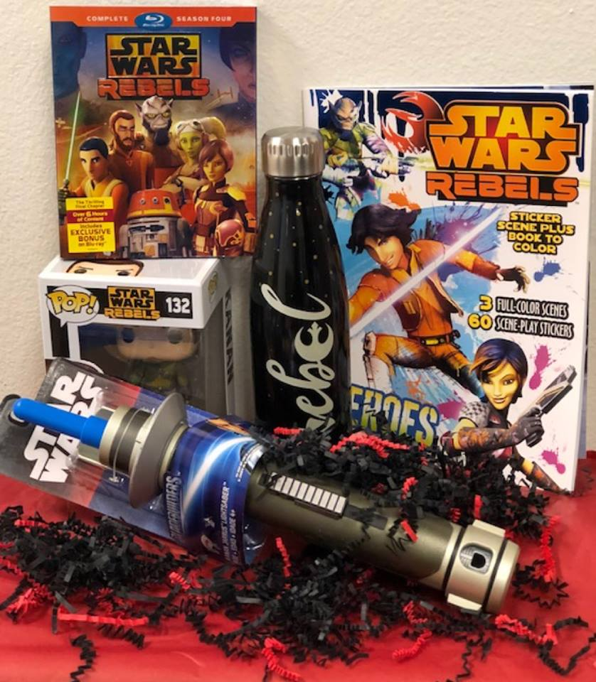 Star Wars Rebels: The Complete Fourth Season Giveaway Kit