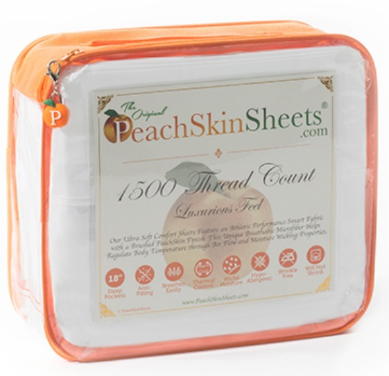 Summer Heat - No Sweat with PeachSkinSheets.com