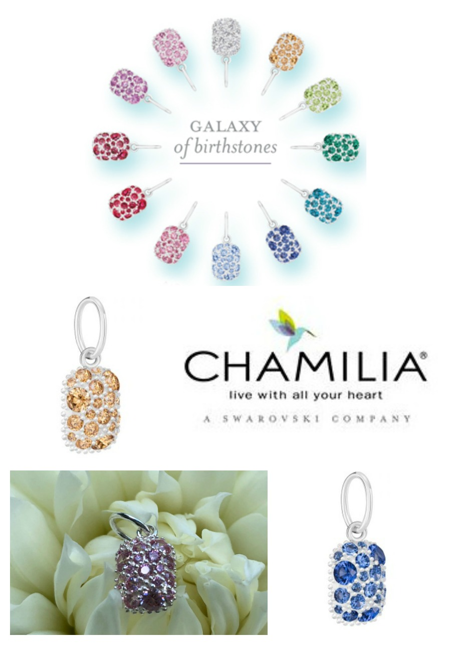 A Galaxy of Birthstone Charms from Chamilia Jewelry
