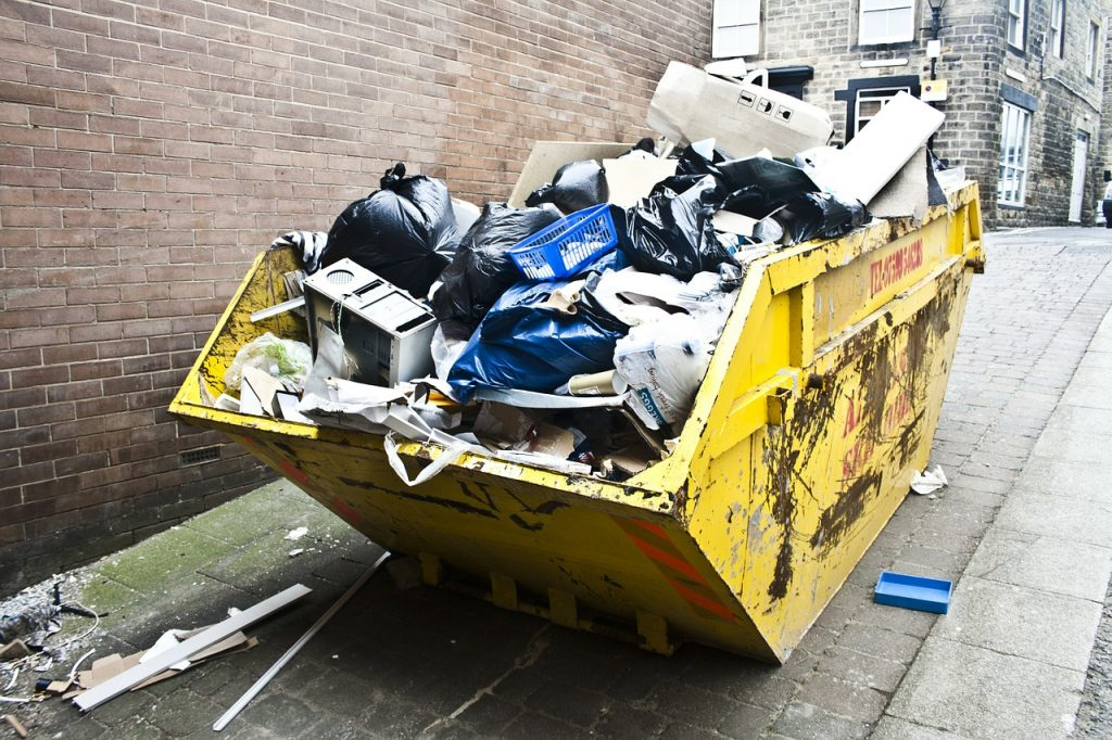 What To Do And Not To Do When Filling A Skip Bin
