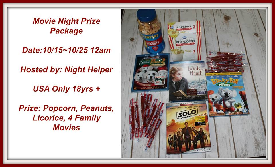 Movie Night Prize Package