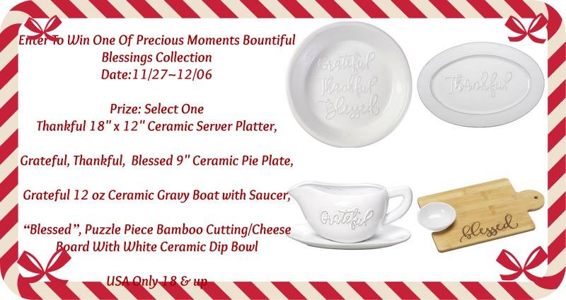Precious Moments Bountiful Blessings Giveaway