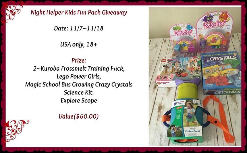 Kids Fun Pack Giveaway