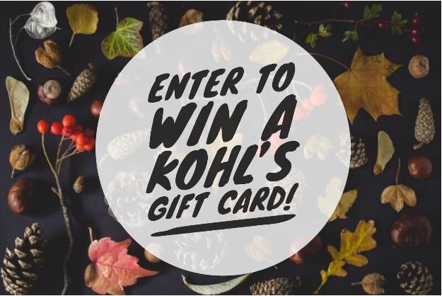 November Kohl's Giveaway