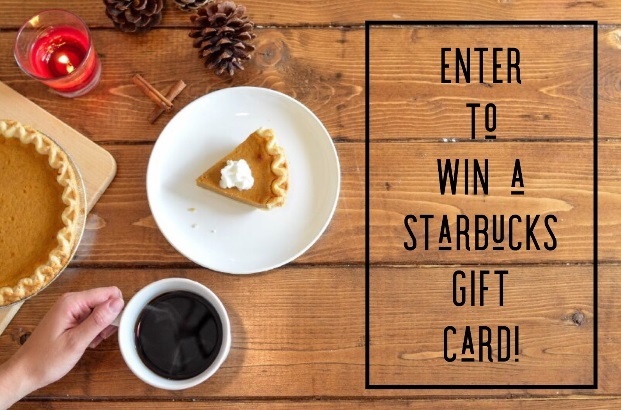 November Starbucks Giveaway