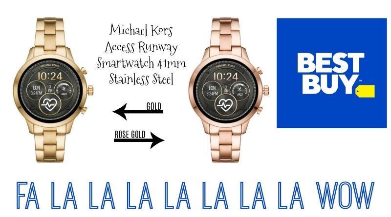Wear Os By Google Michael Kors Access Runway Smartwatch 41mm