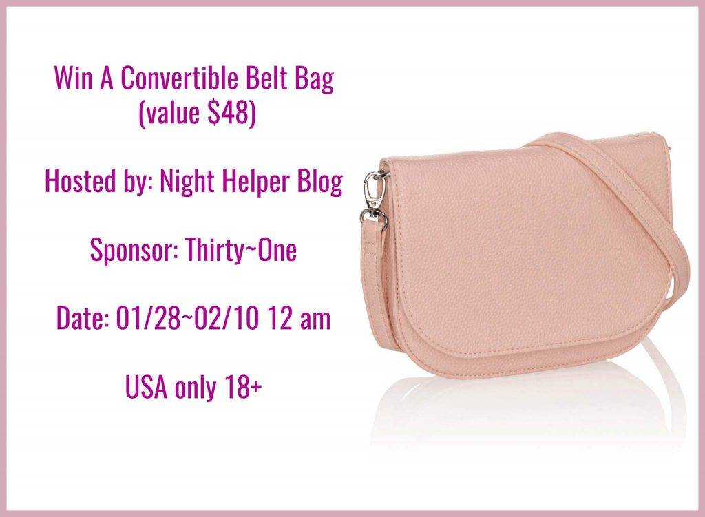 Convertible Belt Bag Giveaway