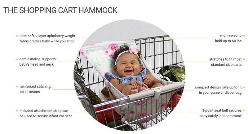 Binxy Baby for Safe and Comfy Hand Free Shopping