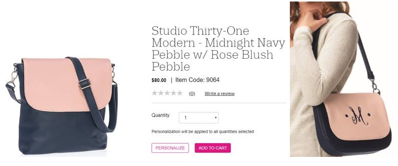 057440dcfb4 Beautiful New ROSE BLUSH from Thirty-One Gifts | Beautiful Touches
