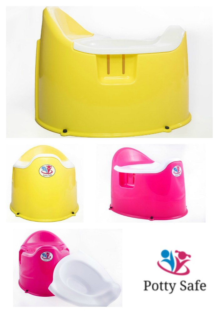 Potty Safe - The Locking Child-Proof Potty Training Chair