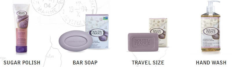 Send Mom on a Trip Without Her Leaving Home With South of France Natural Body Care