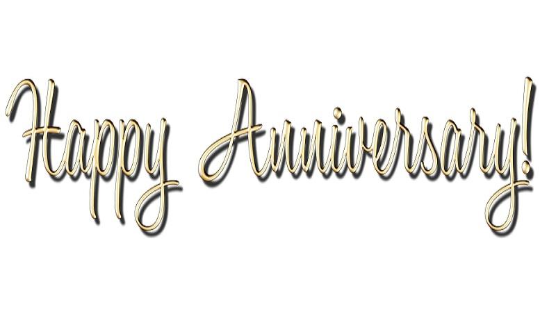 Wedding Anniversary Happy Anniversary