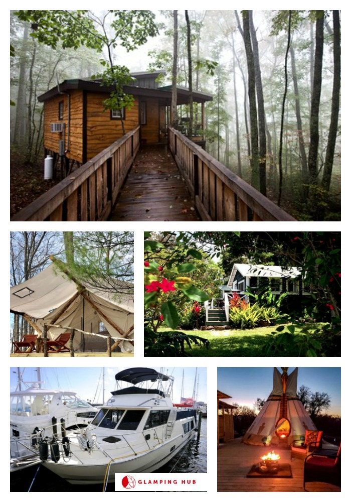 Glamping for Your 4th of July Getaway with Glamping Hub