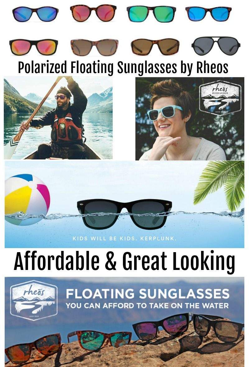 2019 Summer Fun Summer Travel Gift Guide Page - Rheos Floating Sunglasses