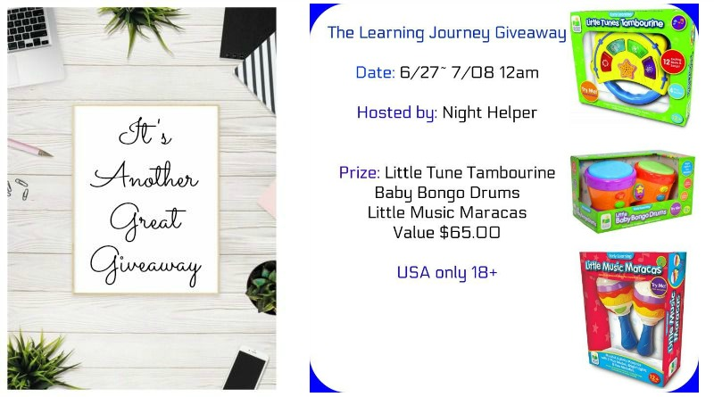 The Learning Journey Giveaway