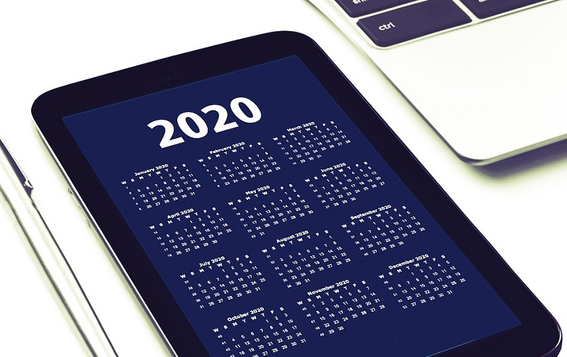 2020 Calendar on Smart Phone - Interior Design Predictions: 2020 Edition