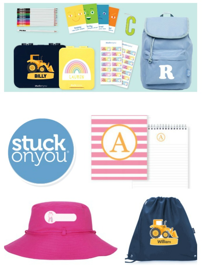 Assorted Products from Stuck On You - 2019 Back To School Gift Guide Page