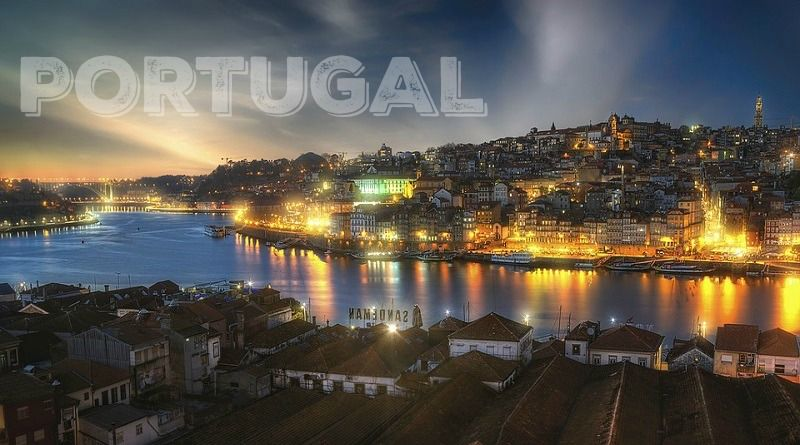 Gorgeous Night Skyline of Porto - Get Your Home Away from Home in Idyllic Portugal