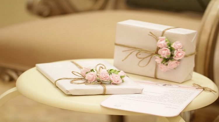 Wrapped Gifts - Environmentally Friendly Gifts to Give at a Bridal Shower